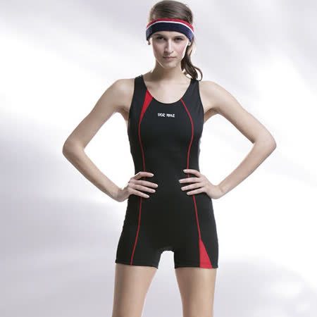 【SAIN SOU】競賽/泳隊/專業用大女連身四角泳裝加贈矽膠泳帽A95248