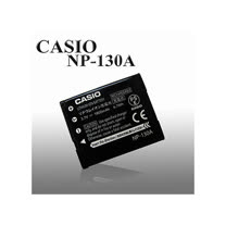 CASIO NP-130A / NP130A / NP130 專用相機原廠電池 (全新密封包裝)
