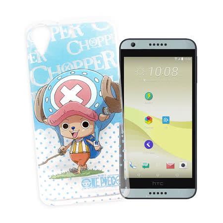 日本東映授權正版 航海王 HTC Desire 626 D626X 透明軟式保護套 手機殼(喬巴系列)