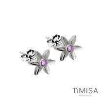 【TiMISA】迷你花漾(S) 純鈦耳針一對 (3色可選)