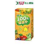 波蜜100%蔬果汁160ml*24