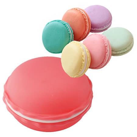 超可愛馬卡龍小物收納盒 項鍊戒指零錢收納盒(三入組) 顏色隨機
