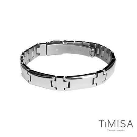 【TiMISA】潮流品味 純鈦鍺手鍊