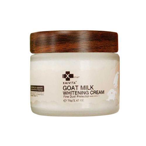 韓國 XAIVITA GOAT MILK 有機山羊乳亮白面霜 70g