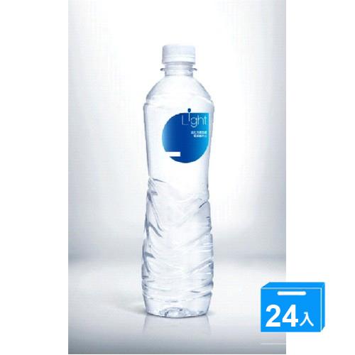 悅氏LIGHT鹼性水550ml~24