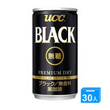 UCC 無糖咖啡飲料 184g*30