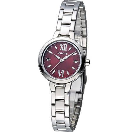 星辰 CITIZEN WICCA 英倫風優雅時尚腕錶 BG3-716-91