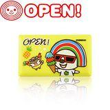 Open小將 多功能Combo ATM讀卡機-加送OPEN Family系列 8G 造型隨身碟(隨機出貨) 夏日假期 (OP-R02)