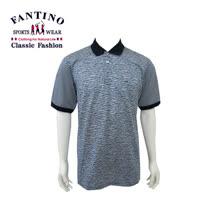 【FANTINO】 男款65支雙絲光休閒斑馬紋棉衫 (丈青) 431315