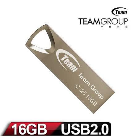 Team 十銓科技 C125 16GB 雅痞碟