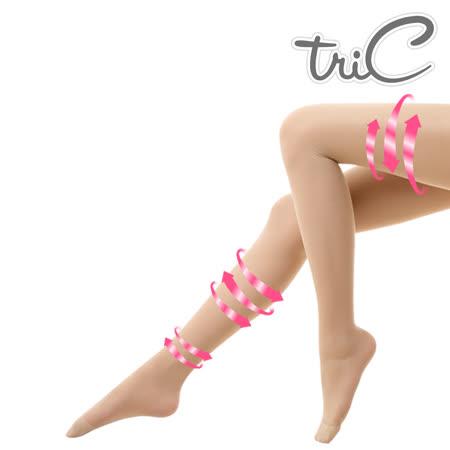 【Tric】台灣製 140Den包趾壓力褲襪 單雙(壓力襪/顯瘦腿襪/健康襪/彈力襪/絲襪褲襪)