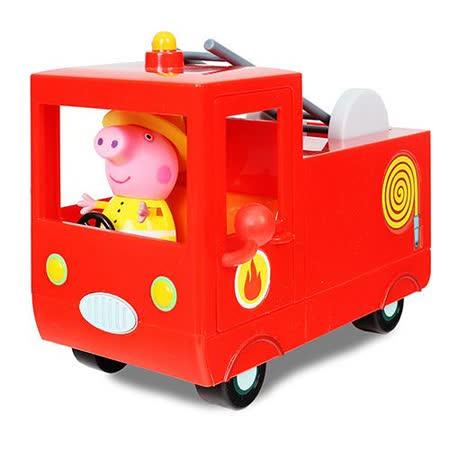 《 Peppa Pig 》粉紅豬小妹消防車