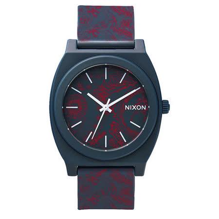 NIXON TIME TELLER P躍動普普個性腕錶-花草紋