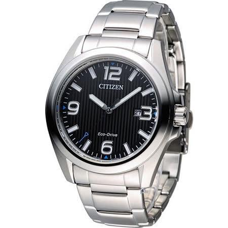 CITIZEN 星辰 光動能紳士時尚腕錶 AW1430-51E