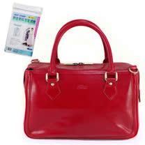 Sika義大利時尚真皮手提MAMA包M6016A-04/魅惑紅+贈《拉鏈式》衣物防塵套X1包