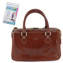 Sika義大利時尚真皮手提MAMA包M6016A-02/深咖啡+贈《拉鏈式》衣物防塵套X1包