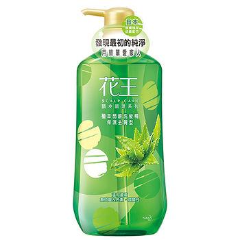 花王植萃弱酸洗髮精-純淨去屑型-蘆薈750ml
