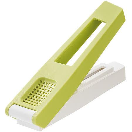 《KOZIOL》蒜末壓蒜器(綠)
