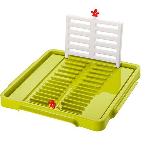 《KOZIOL》摺疊碗盤瀝水架(綠)