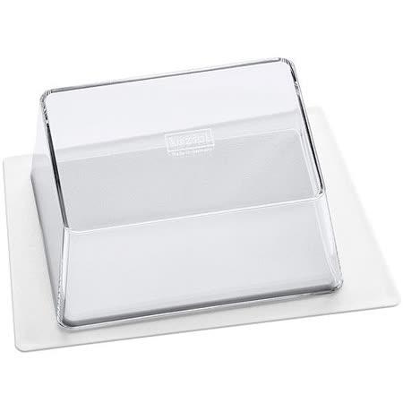 《KOZIOL》梯型奶油盤(白)