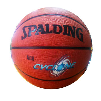 斯伯丁CYCLONE桔色籃球