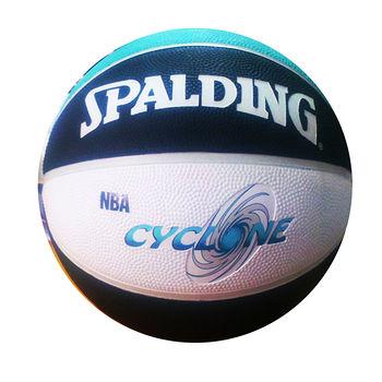 斯伯丁CYCLONE雙色籃球