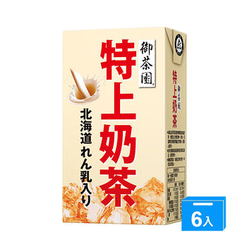 御茶園特上奶茶250ml*6