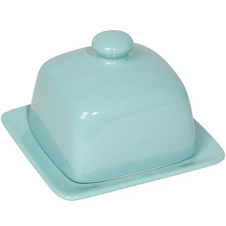 《NOW》立方附蓋奶油盤(藍)