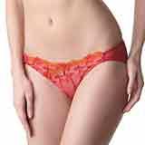 【LADY】瑪格麗特系列 低腰三角褲(罌粟紅)
