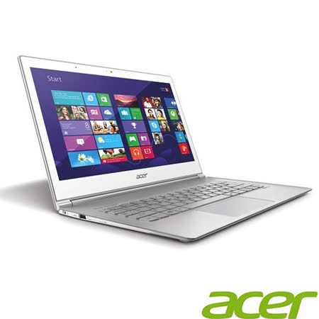 Acer S7-393 13.3吋 i7-5500U 256G SSD Win8輕薄強效觸控筆電 -加送無線滑鼠+ACER保溫杯+藍芽喇叭+創建外接式DVD燒錄機