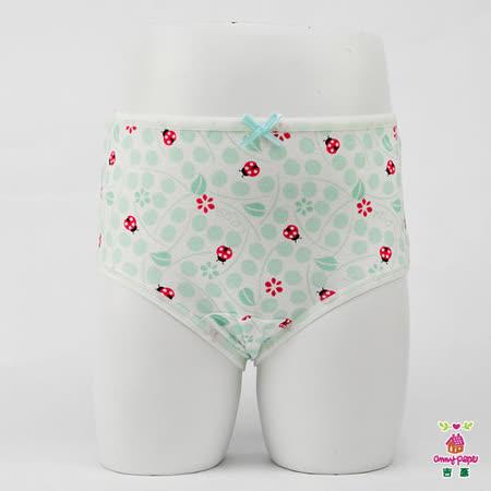 【Anny pepe】女童瓢蟲綠三角褲(精梳美國棉)