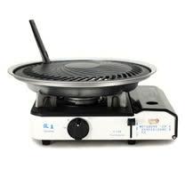 歐王OUWANG-遠紅外線混雙卡式爐JL-158(堅固PE外盒) + 超級燒烤盤K1BQ-007