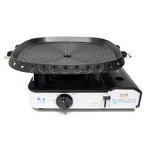 歐王OUWANG-遠紅外線混雙卡式爐JL-158(附PE外盒) + 韓國最新火烤兩用烤盤NU-G