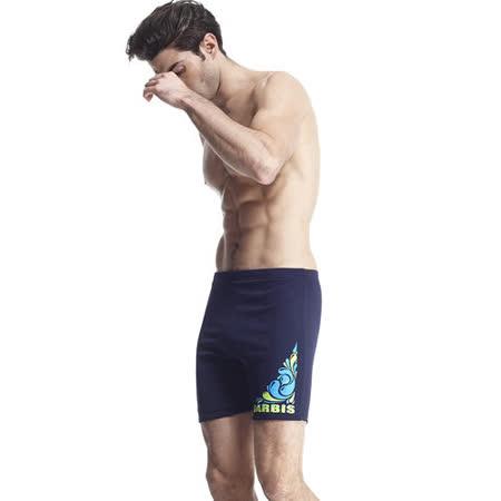 【SARBIS】MIT泡湯SPA專用五分泳褲附泳帽B53402