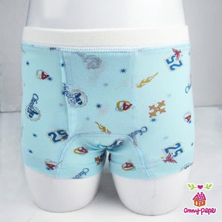 【Anny pepe】男童火焰四角褲(精梳美國棉)