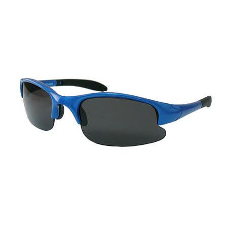 【Chimon Ritz】星空帥兒童太陽眼鏡-藍 (雙色鏡架)