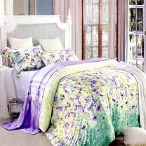 《KOSNEY 奇蹟夢想》雙人100%天絲TENCEL四件式兩用被床包組