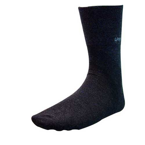 【LACOYA  竹炭襪 】竹炭紳士襪(CP687-黑色)*5雙