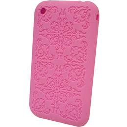 【Q-Max】iPhone 3G 矽膠保護套 (古典雕花紋)