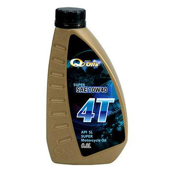 新金Q oils4T機車機油800ml (10W40)