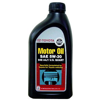 TOYOTA 原廠車用機油946ml (5W30)