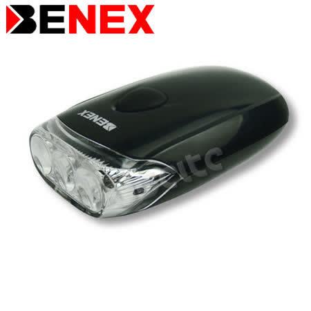 【BENEX】高亮度3LED 腳踏車燈 0306G