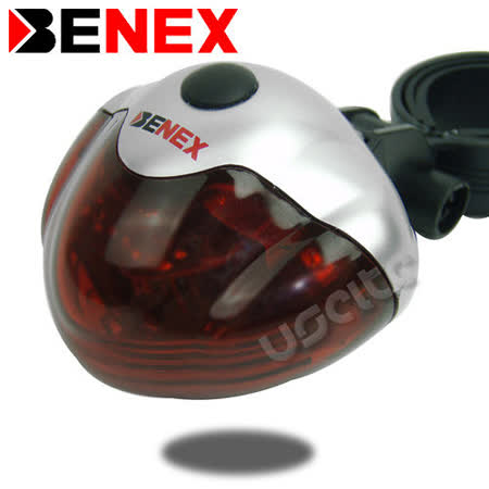 【BENEX】X追蹤者 腳踏車後燈 0312E
