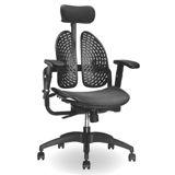 新型調整式網背雙臂透氣辦公椅