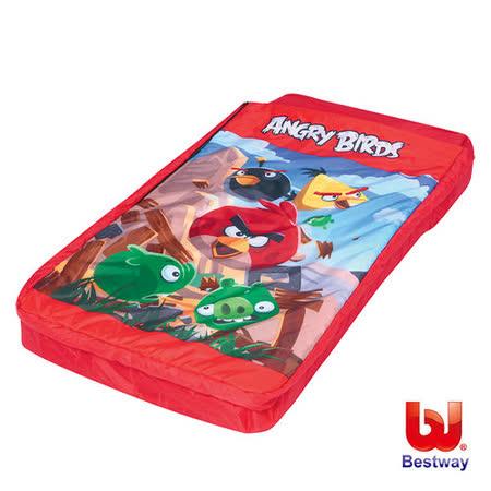 《購犀利》憤怒鳥兒童附枕 充氣床鋪、睡袋2合1