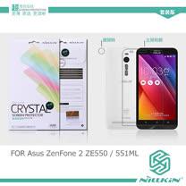 NILLKIN Asus ZenFone 2 5.5吋 ZE550/551ML 超清防指紋抗油汙保護貼