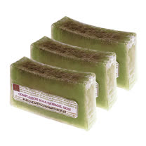 《菠丹妮》橄欖萵苣手工皂150g-三入組(長方形)