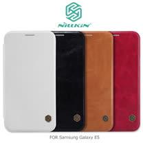 NILLKIN Samsung Galaxy E5 秦系列側翻皮套