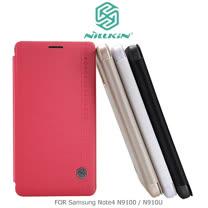 NILLKIN Samsung Note 4 N9100/N910U 絲雨系列皮套