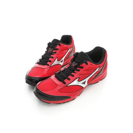 Mizuno(男)慢跑鞋-紅J1GA158302